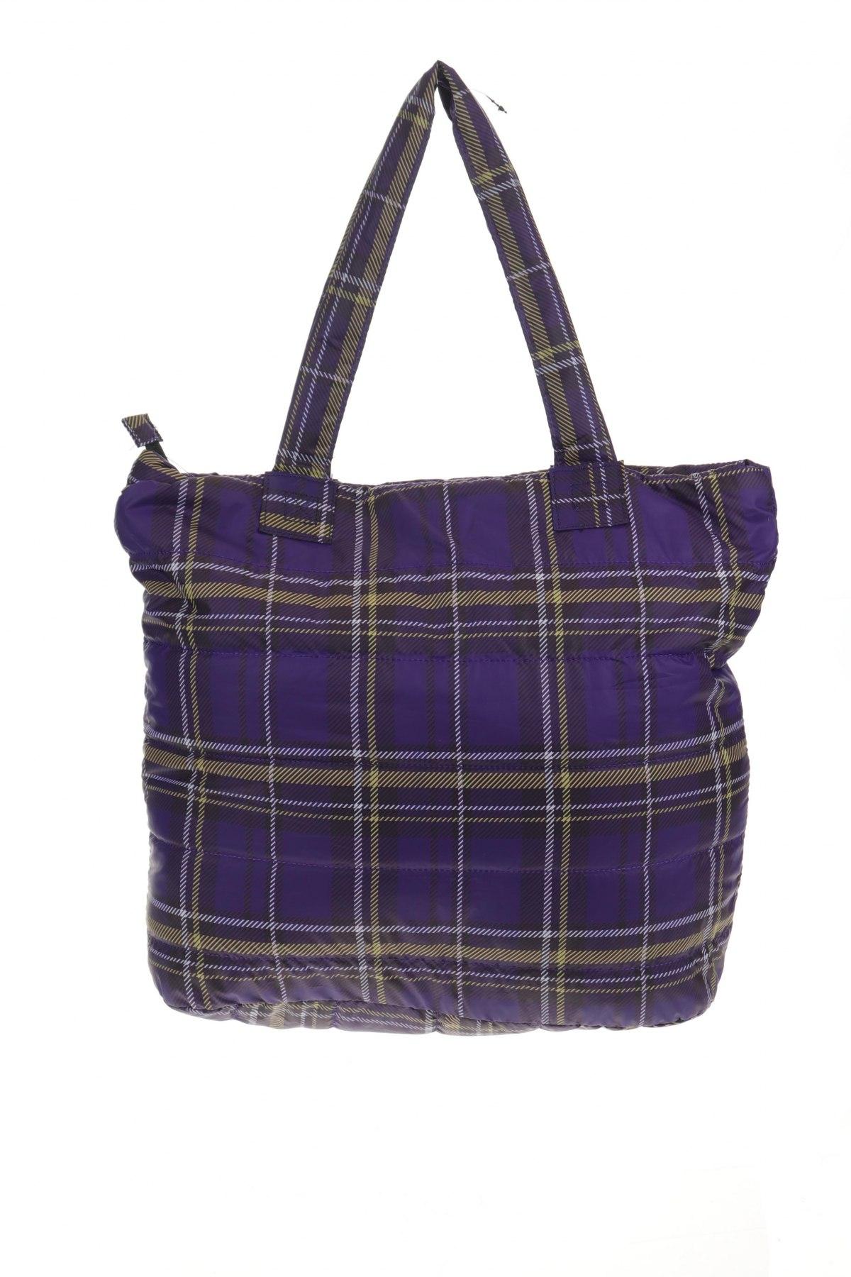 Дамска чанта Reserved, Цвят Лилав, Текстил, Цена 34,10лв.