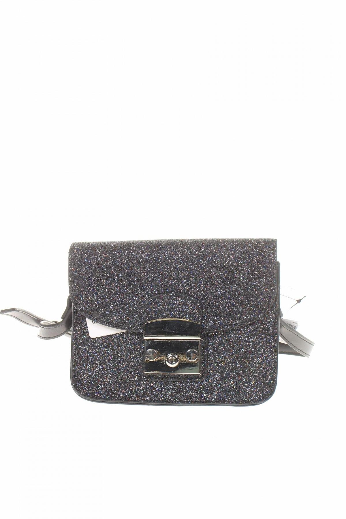 Дамска чанта Reserved, Цвят Сив, Еко кожа, Цена 22,05лв.