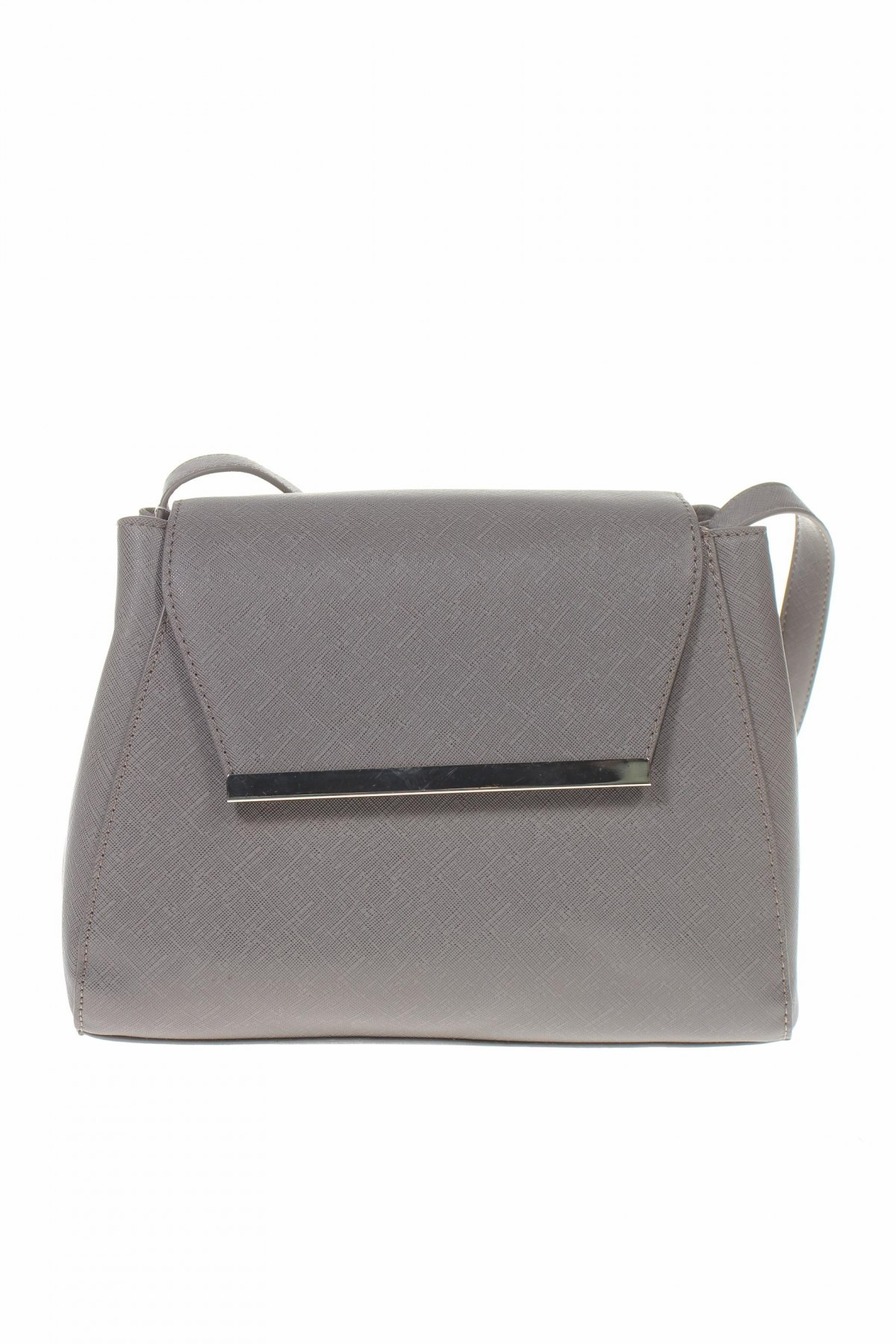 Дамска чанта Sinsay, Цвят Сив, Еко кожа, Цена 24,50лв.