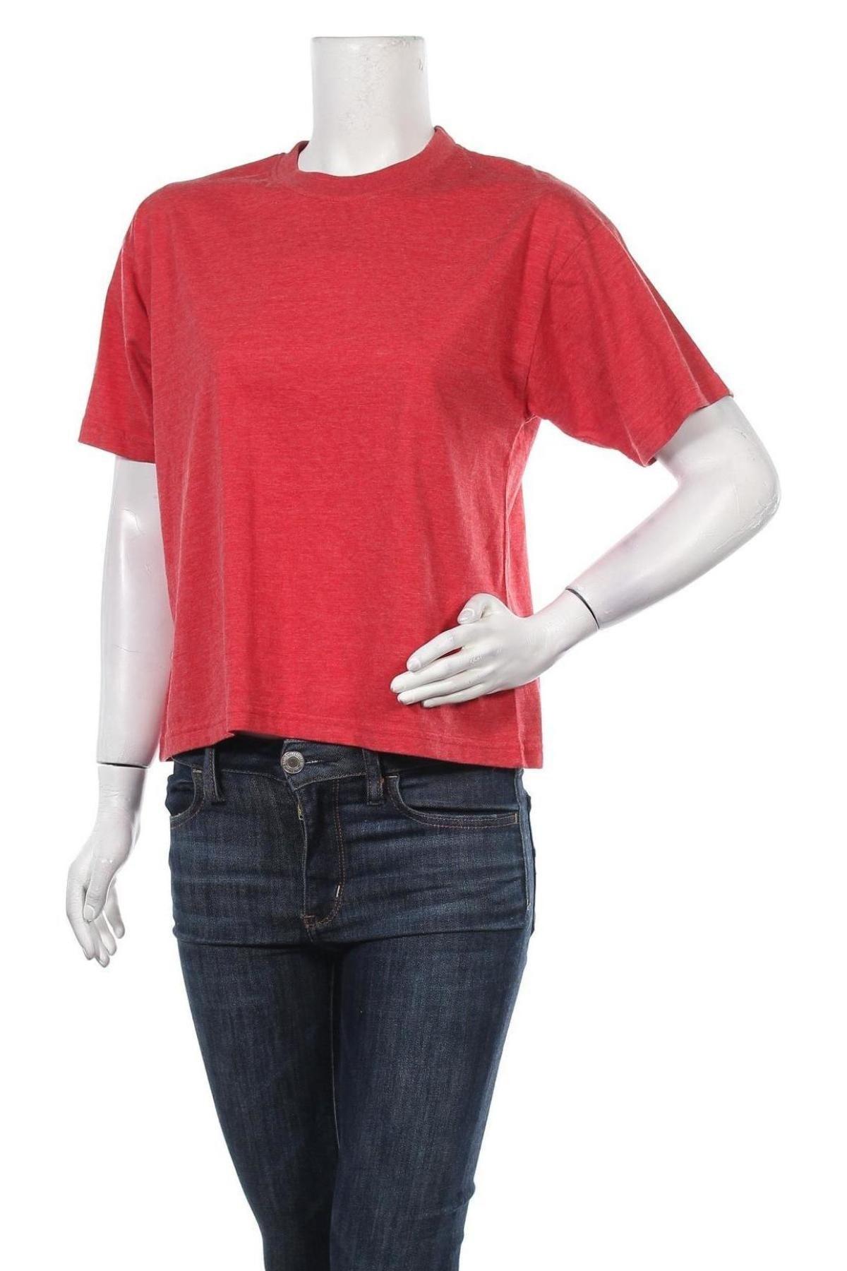 Дамска тениска, Размер S, Цвят Червен, Цена 9,10лв.