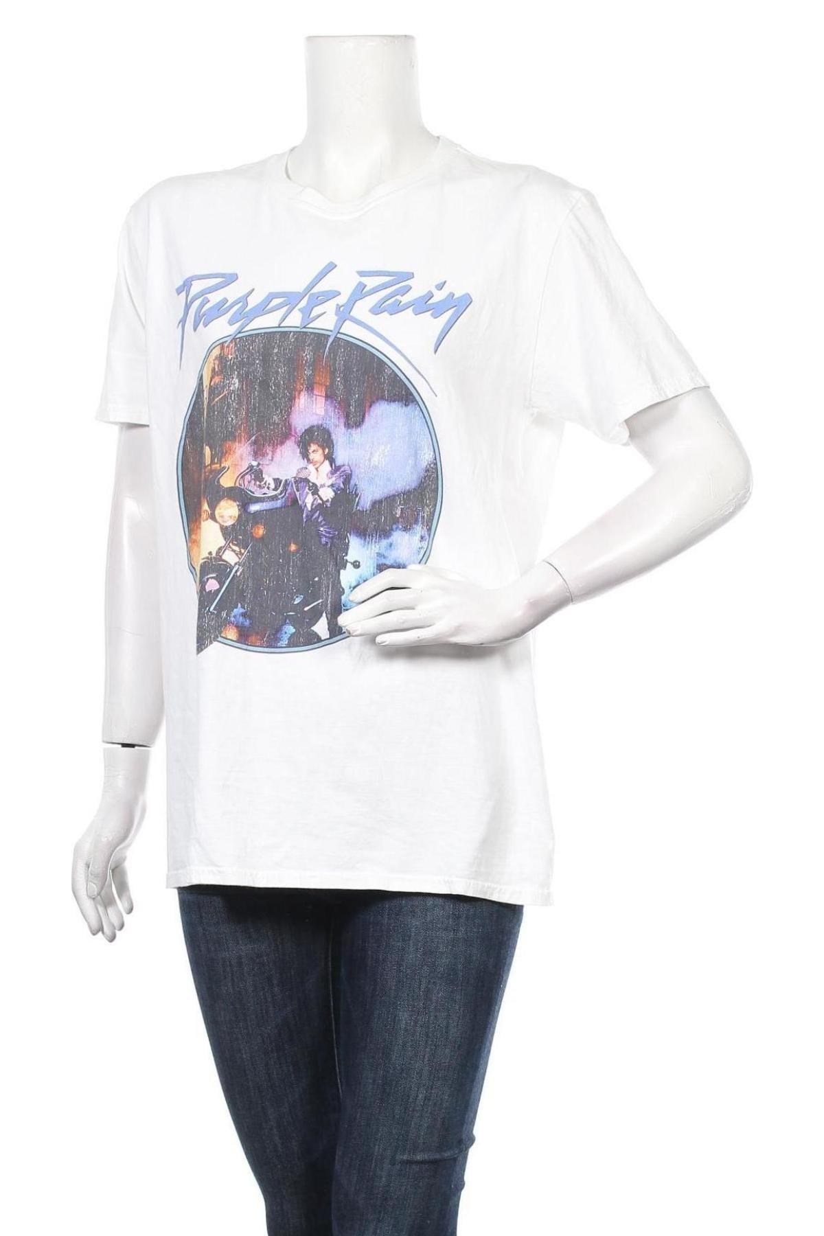 Дамска тениска Missguided, Размер M, Цвят Бял, Памук, Цена 21,58лв.