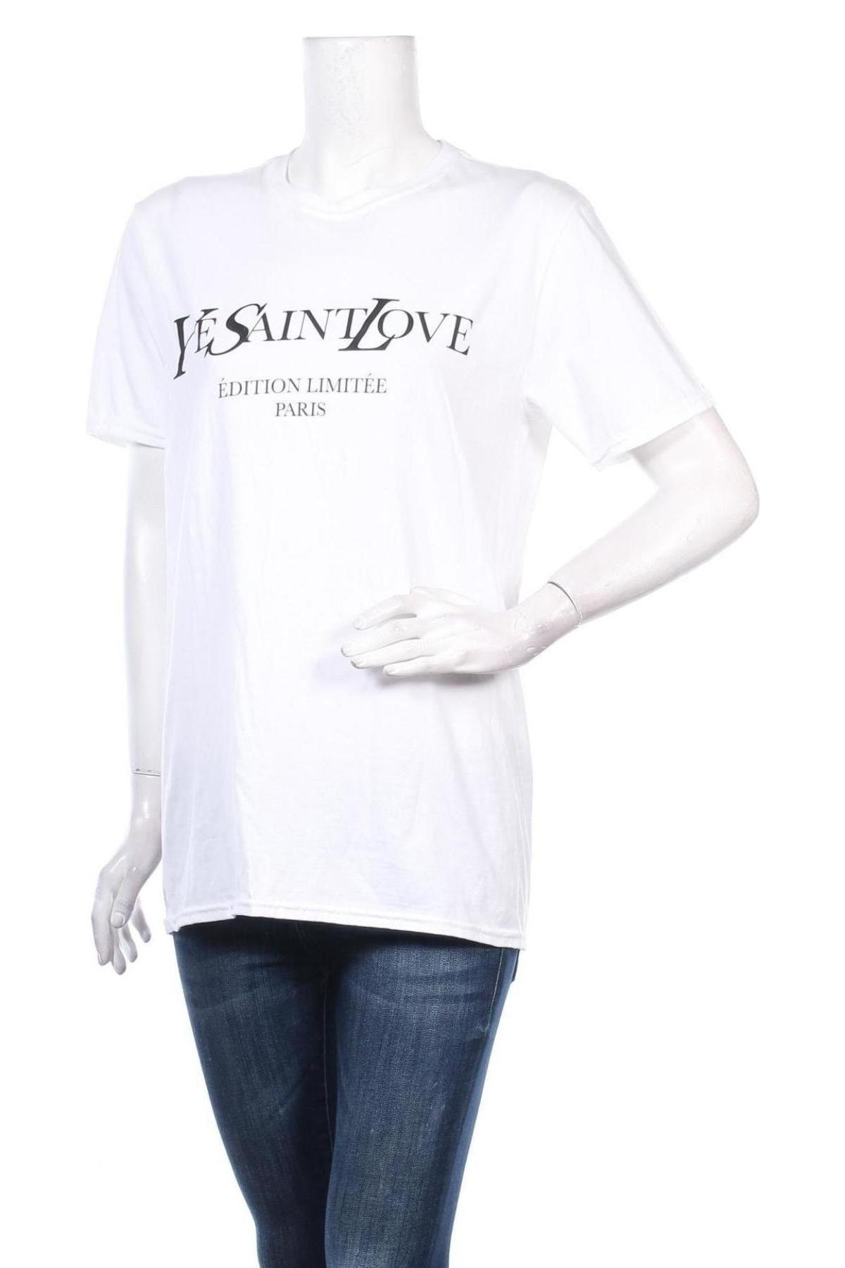 Дамска тениска Stylewise, Размер S, Цвят Бял, Цена 20,80лв.
