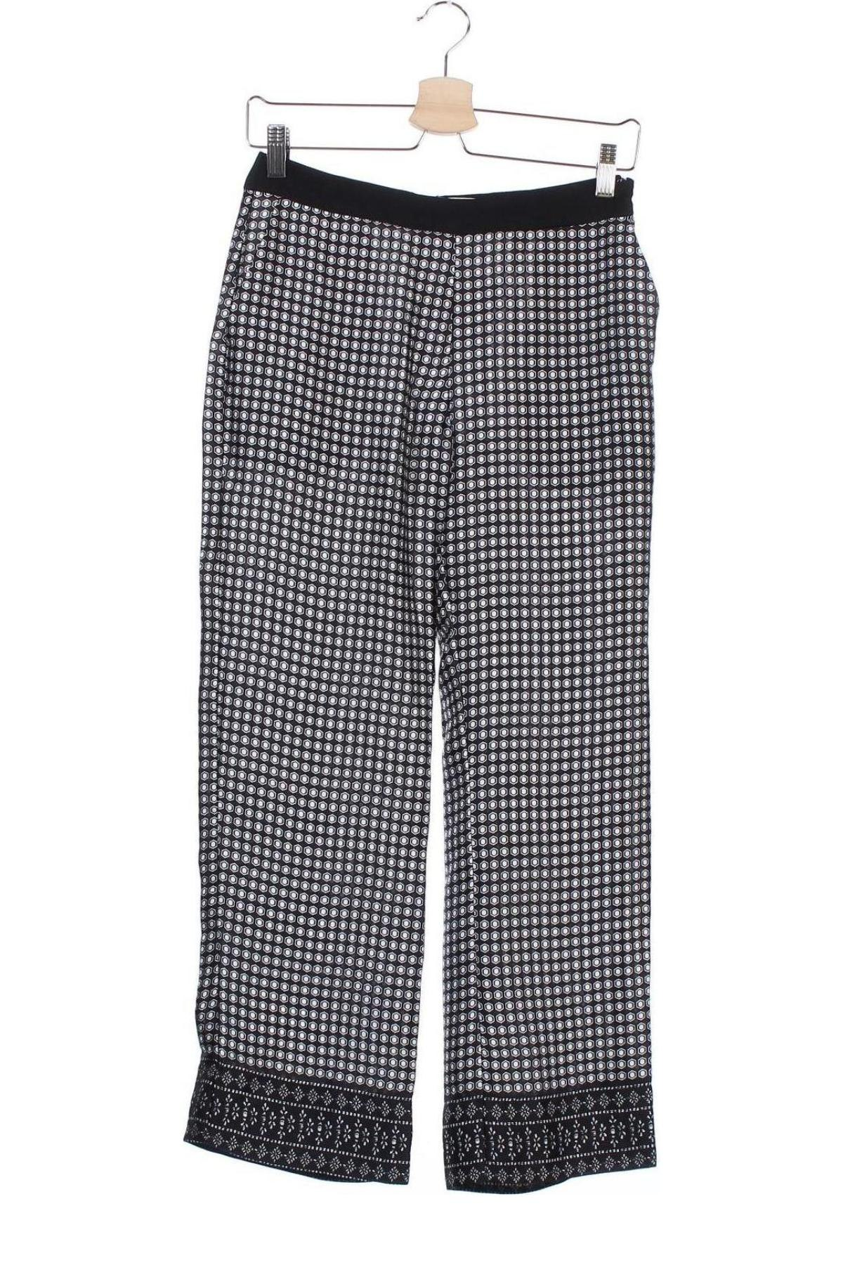Дамски панталон Mango, Размер XS, Цвят Черен, Полиестер, Цена 14,26лв.