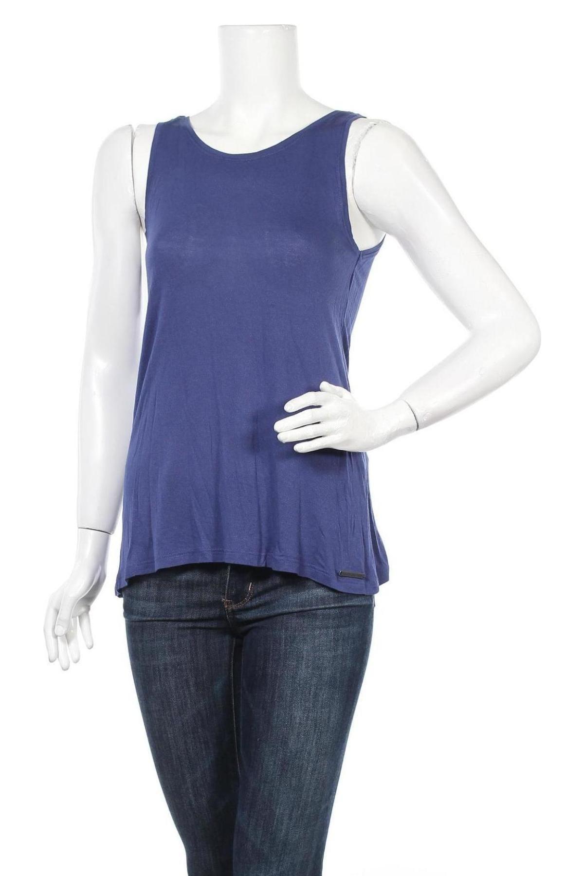 Tricou de damă House, Mărime XS, Culoare Albastru, Poliester, Preț 69,08 Lei