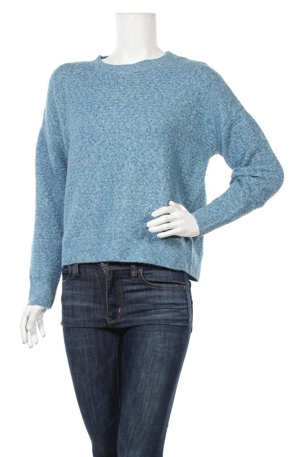 Γυναικείο πουλόβερ Vero Moda, Μέγεθος S, Χρώμα Μπλέ, 94% πολυεστέρας, 3% ελαστάνη, 3% πολυαμίδη, Τιμή 22,81€