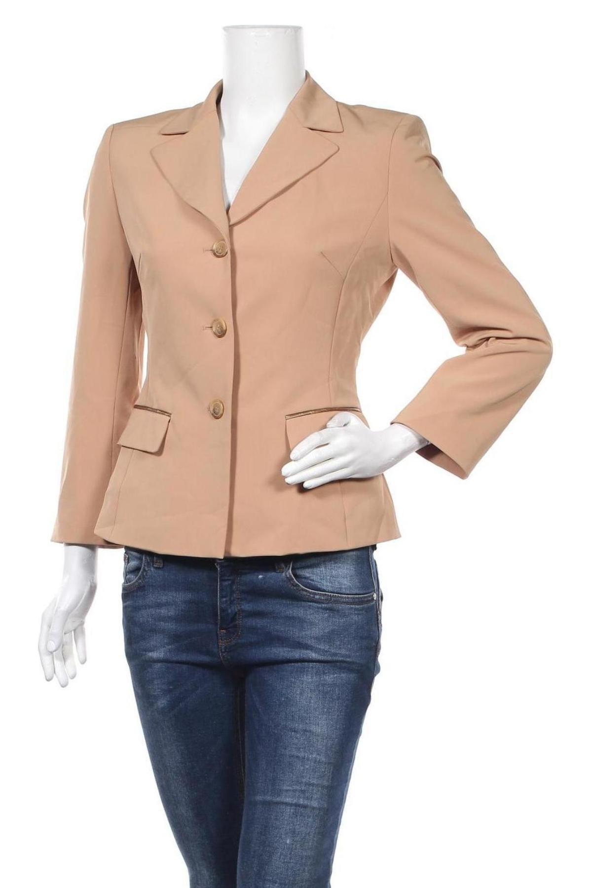 Дамско сако Marc Aurel, Размер S, Цвят Кафяв, 90% полиестер, 10% еластан, Цена 22,05лв.