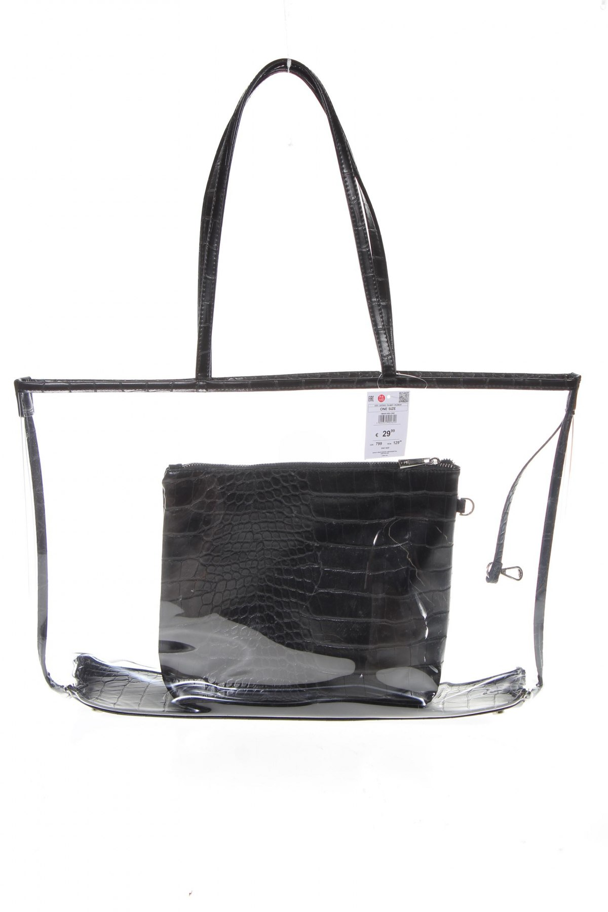 Детска чанта Reserved, Цвят Черен, Полиуретан, Цена 22,05лв.