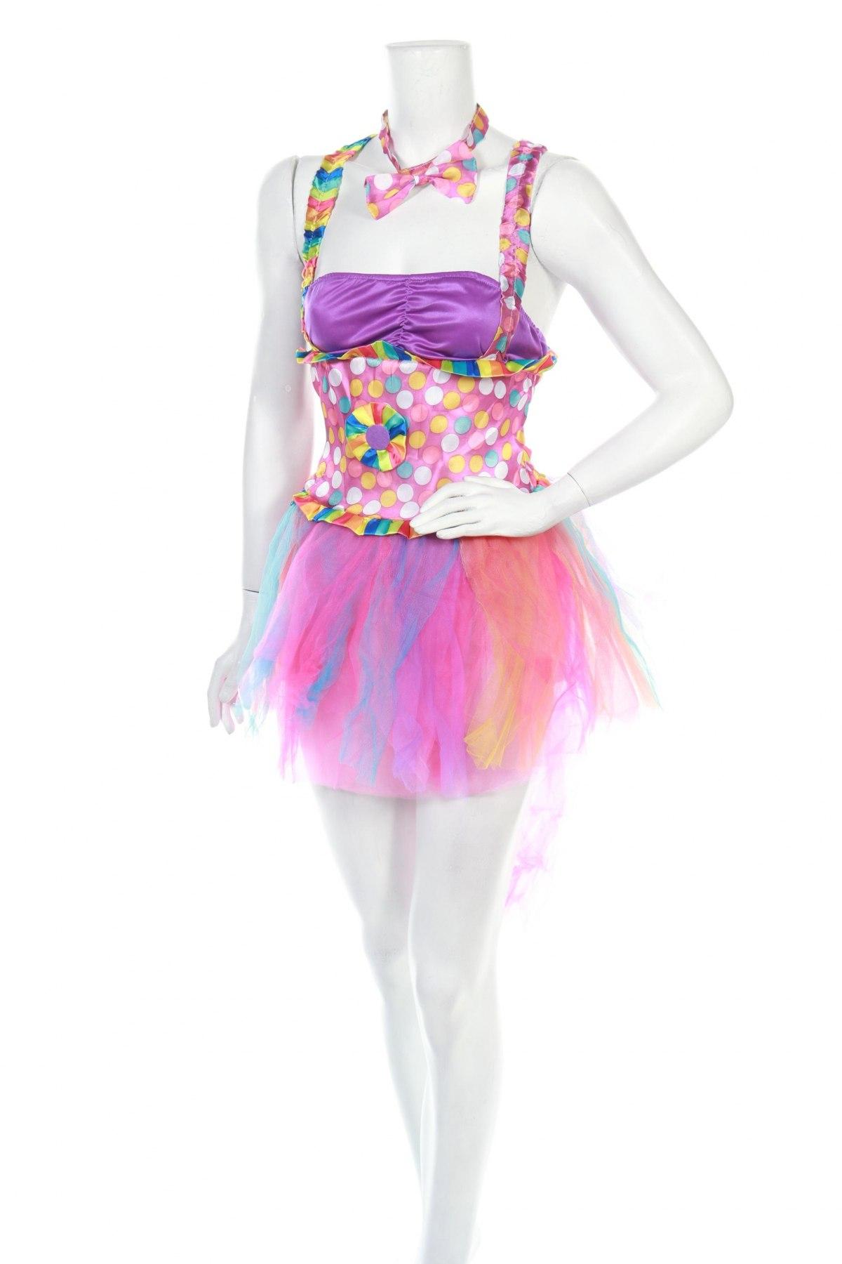 Карнавален костюм, Размер S, Цвят Многоцветен, Полиестер, Цена 17,15лв.