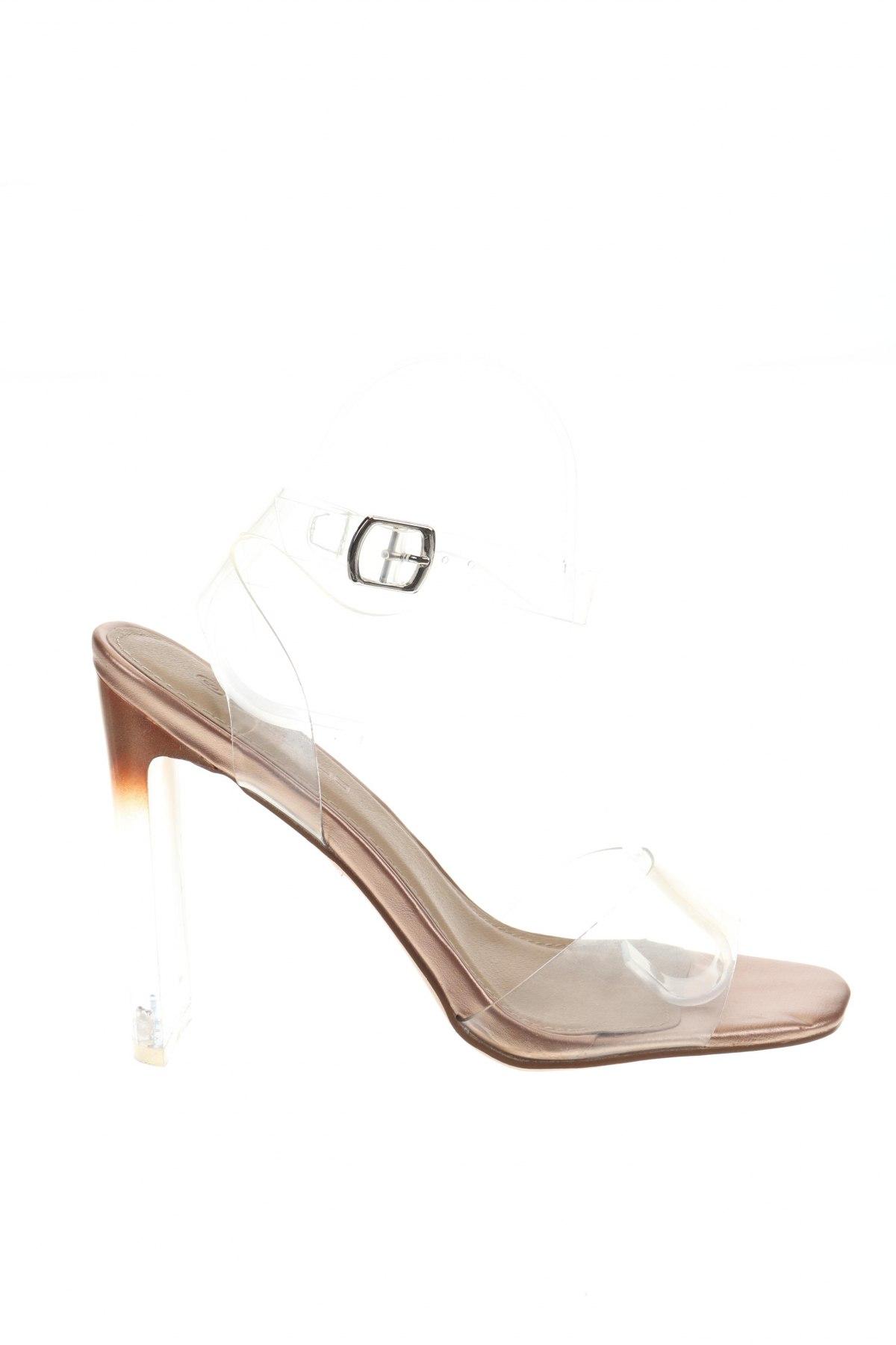 Σανδάλια Boohoo, Μέγεθος 40, Χρώμα Λευκό, Πολυουρεθάνης, Τιμή 16,73€