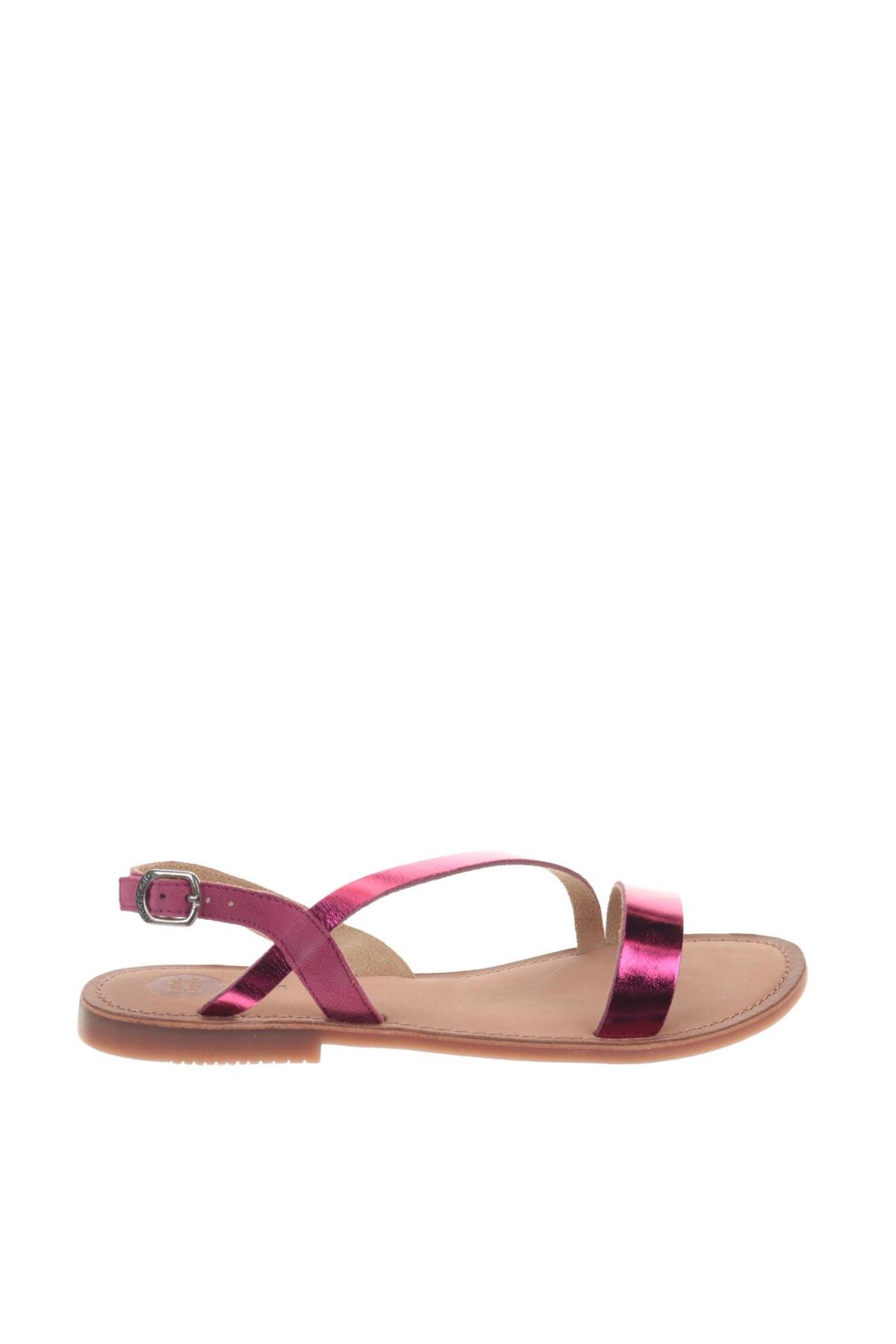 Σανδάλια Gioseppo, Μέγεθος 38, Χρώμα Ρόζ , Γνήσιο δέρμα, Τιμή 24,32€