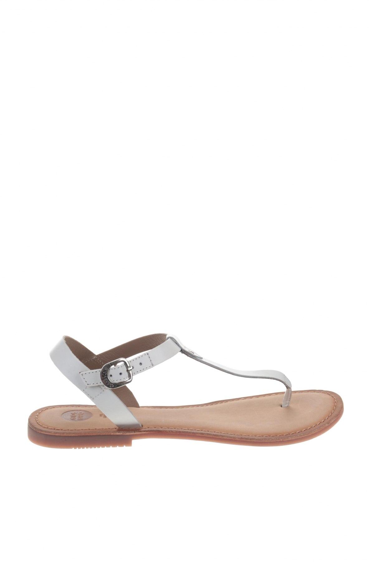 Σανδάλια Gioseppo, Μέγεθος 40, Χρώμα Λευκό, Γνήσιο δέρμα, Τιμή 24,32€