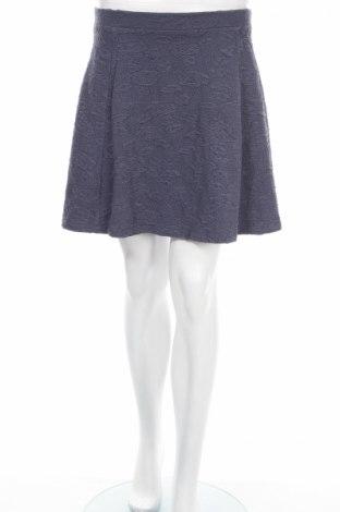Пола Vero Moda, Размер S, Цвят Сив, 51% памук, 43% полиестер, 6% еластан, Цена 5,90лв.