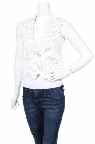 Дамски елек Blind Date, Размер XS, Цвят Бял, 97% памук, 3% еластан, Цена 20,40лв.