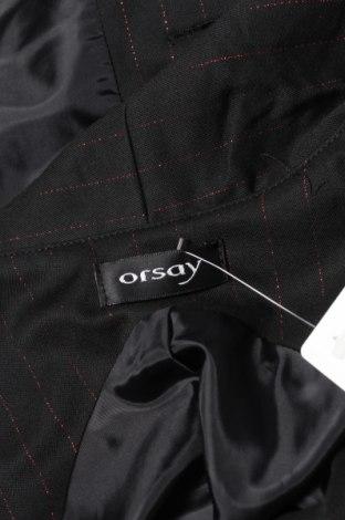Дамски елек Orsay, Размер M, Цвят Черен, 62% полиестер, 34% вискоза, 2% еластан, 2% метални нишки, Цена 20,40лв.