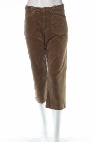 Дамски панталон Green House, Размер M, Цвят Кафяв, 98% памук, 2% еластан, Цена 18,00лв.
