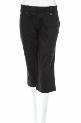 Дамски панталон H&M, Размер M, Цвят Черен, 97% памук, 3% еластан, Цена 6,58лв.