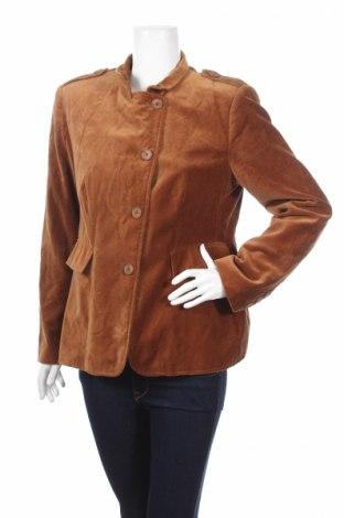 Дамско палто Mark Adam, Размер S, Цвят Кафяв, Памук, Цена 14,95лв.