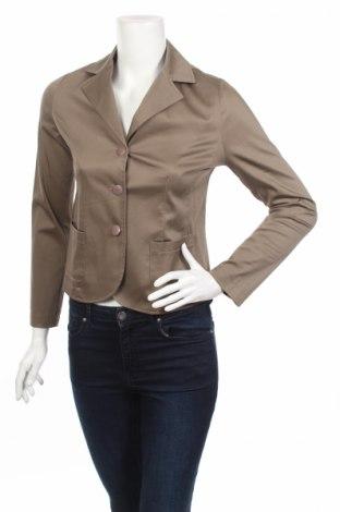 Дамско сако, Размер S, Цвят Кафяв, 89% полиестер, 11% еластан, Цена 6,21лв.