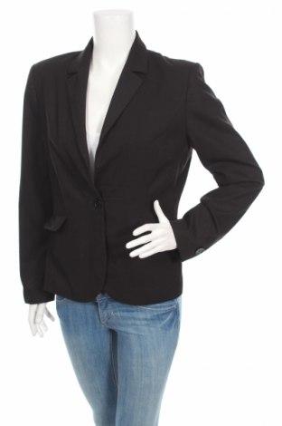 Дамско сако Andrews, Размер L, Цвят Черен, 38% вълна, 58% полиестер, 4% еластан, Цена 8,32лв.