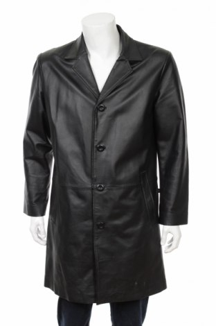 Мъжки кожен шлифер Tom Tailor
