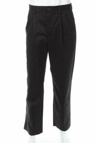 Мъжки панталон Dockers, Размер L, Цвят Черен, 60% памук, 40% полиестер, Цена 23,00лв.