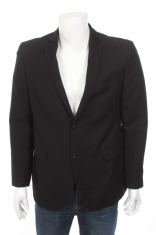 Мъжко сако Angelo Litrico, Размер L, Цвят Черен, 65% полиестер, 35% вискоза, Цена 3,00лв.