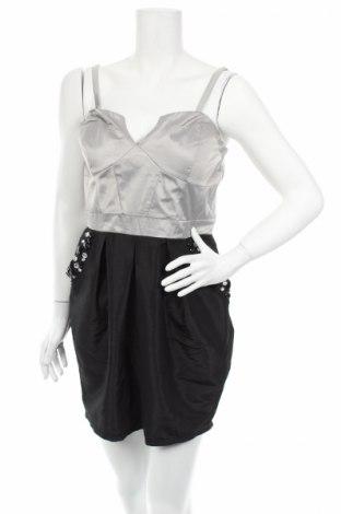 Φόρεμα Lipsy London, Μέγεθος L, Χρώμα Γκρί, 97% πολυεστέρας, 3% ελαστάνη, Τιμή 7,51€