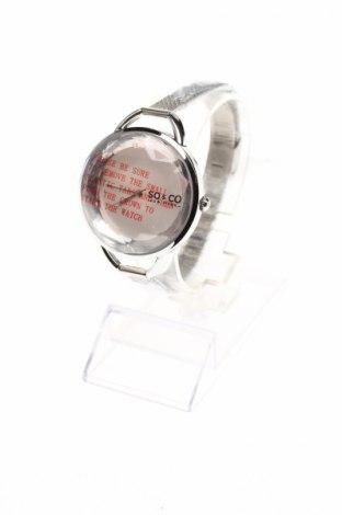 Ceas SO&CO New York, Culoare Argintiu, Metal, Preț 181,18 Lei