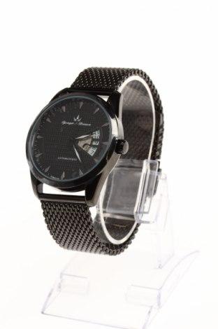 Часовник Yonger & Bresson, Цвят Черен, Метал, Цена 89,75лв.