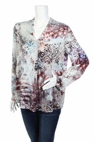 Дамска блуза Esprit, Размер M, Цвят Многоцветен, 100% полиестер, Цена 4,14лв.