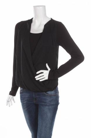 Bluză de femei Heine, Mărime S, Culoare Negru, Viscoză, elastan, poliester, Preț 25,42 Lei