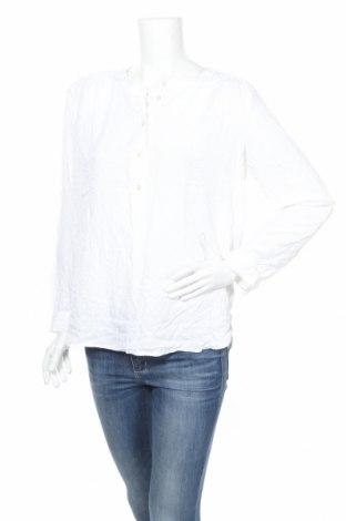 Дамска блуза Loft By Ann Taylor, Размер M, Цвят Бял, Вискоза, Цена 10,50лв.