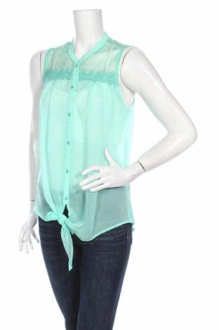 Дамска риза Inside, Размер L, Цвят Зелен, Полиестер, Цена 11,50лв.