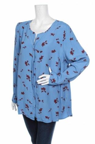 Дамска риза Junarose, Размер XL, Цвят Син, 100% вискоза, Цена 13,57лв.
