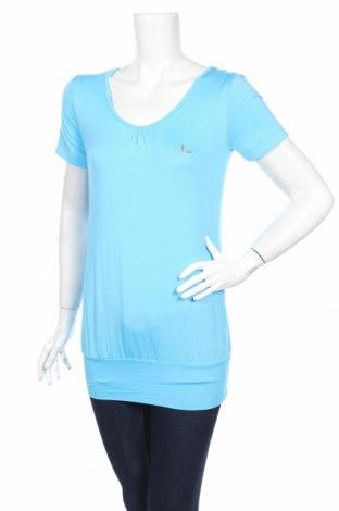 Дамска спортна блуза Luhta, Размер XS, Цвят Син, 90% полиестер, 10% еластан, Цена 20,28лв.