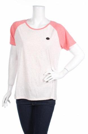 Дамска тениска Naketano, Размер XL, Цвят Розов, 50% памук, 50% полиестер, Цена 26,55лв.