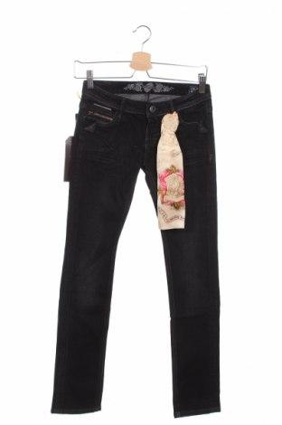 Дамски дънки Bandits Du Monde, Размер XS, Цвят Черен, 98% памук, 2% еластан, Цена 16,12лв.
