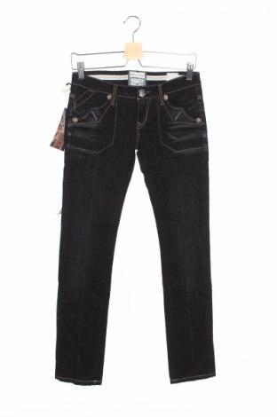 Дамски дънки Bandits Du Monde, Размер XS, Цвят Черен, 99% памук, 1% еластан, Цена 26,31лв.