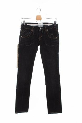 Дамски дънки Bandits Du Monde, Размер XS, Цвят Черен, 99% памук, 1% еластан, Цена 21,53лв.