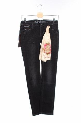 Γυναικείο Τζίν Bandits Du Monde, Μέγεθος XS, Χρώμα Μαύρο, 99% βαμβάκι, 1% ελαστάνη, Τιμή 15,03€