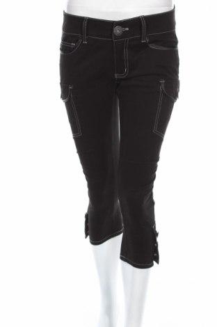 Дамски дънки DKNY Jeans, Размер M, Цвят Черен, 98% памук, 2% еластан, Цена 16,12лв.