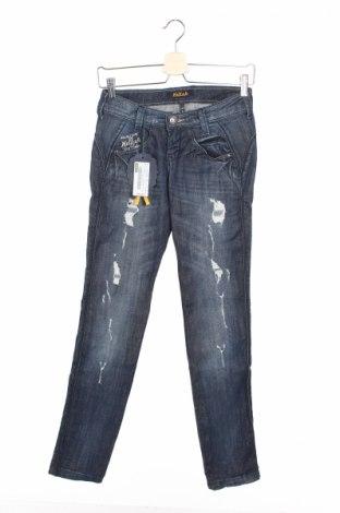 Дамски дънки Killah, Размер XXS, Цвят Син, 98% памук, 2% еластан, Цена 12,80лв.