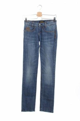 Дамски дънки Killah, Размер XS, Цвят Син, 99% памук, 1% еластан, Цена 13,52лв.