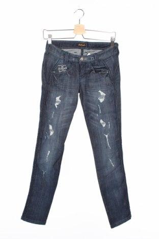 Дамски дънки Killah, Размер XS, Цвят Син, 98% памук, 2% еластан, Цена 28,11лв.