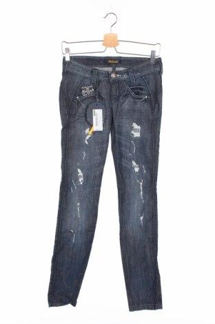 Дамски дънки Killah, Размер XS, Цвят Син, 98% памук, 2% еластан, Цена 24,44лв.