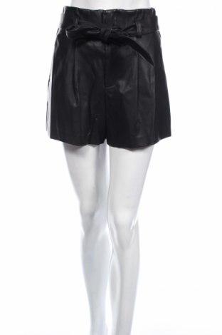 Γυναικείο κοντό δερμάτινο παντελόνι New Look