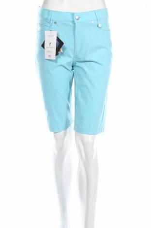 Дамски къс панталон Golfino, Размер S, Цвят Син, 94% полиамид, 6% еластан, Цена 29,20лв.