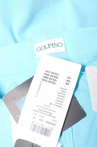 Дамски къс панталон Golfino, Размер M, Цвят Син, 94% полиамид, 6% еластан, Цена 29,20лв.