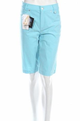 Дамски къс панталон Golfino, Размер L, Цвят Син, 94% полиамид, 6% еластан, Цена 29,20лв.