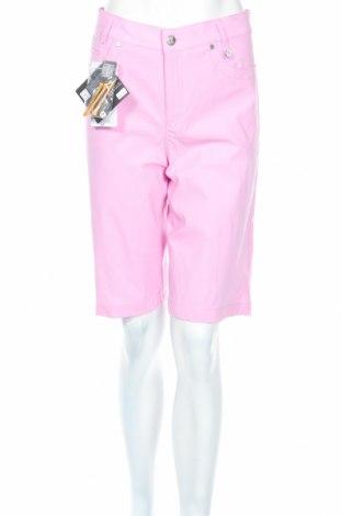 Дамски къс панталон Golfino, Размер L, Цвят Розов, 94% полиамид, 6% еластан, Цена 29,20лв.
